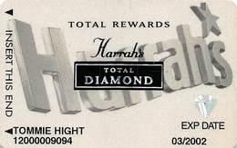 Harrah's Casino Multi-Property - 9th Issue Total Rewards Total Diamond Slot Card - Casino Cards