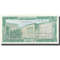 Billet, Lebanon, 5 Livres, 1986, KM:62d, TTB - Liban