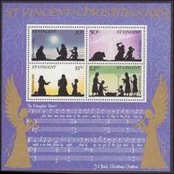St Vincent 1983 Christmas Souvenir Sheet Unmounted Mint. - St.Vincent (1979-...)