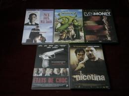 PROMO  DVD   Ref  281 °   LE LOT DES 5 DVD  _ FILMS  POUR  20  EUROS °°° - DVD