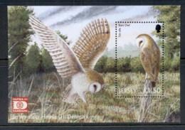 Jersey 2001 Barn Owl, Bird, Hafnia MS MUH - Jersey