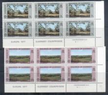 Guernsey 1977 Europa, Views Blk6 MUH - Guernsey