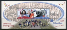 Isle Of Man 2010 Girl Guiding Centenary MS MUH - Isola Di Man