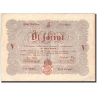 Billet, Hongrie, 5 Forint, 1848, 1848-09-01, KM:S116a, TTB - Hongrie
