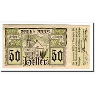 Billet, Autriche, Zell A/d Ybbs, 50 Heller, Texte, 1920, 1920-04-10, SPL - Autriche