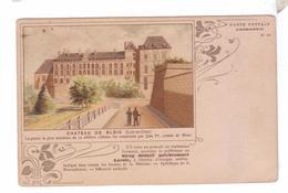 41 CHATEAU BLOIS Loir Et Cher Chromos Dessin Capmartin Publicite Sirop Lacroix - Châteaux