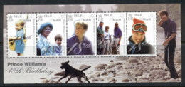 Isle Of Man 2000 Royalty, Prince William 18th Birthday MS MUH - Isola Di Man