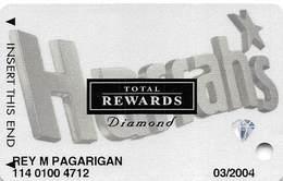 Harrah's Casino Multi-Property - TR Diamond Slot Card @2003 - Casino Cards