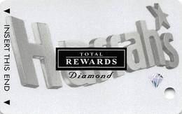Harrah's Casino Multi-Property - TR Diamond Slot Card @2003 With 5 Casino Logos - Casino Cards