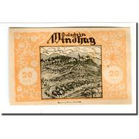 Billet, Autriche, Windhag Bei Waidhofen An Der Ybbs N.Ö. Gemeinde, 20 Heller - Autriche