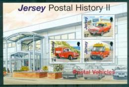 Jersey 2006 Jersey Post Vehicles MS MUH - Jersey