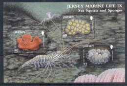 Jersey 2011 Marine Life, Sea Squirters MS MUH - Jersey
