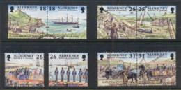 Alderney 1997 Garrison Island FU - Alderney