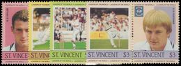 St Vincent 1985 Cricketers Unmounted Mint. - St.Vincent (1979-...)