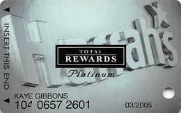Harrah's Casino Multi-Property - TR Platinum Slot Card @2004 - Casino Cards