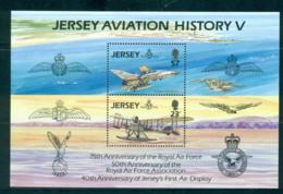 Jersey 1993 Aviation History V MS MUH Lot57377 - Jersey