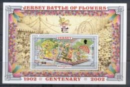 Jersey 2002 Battle Of Flowers MS MUH - Jersey