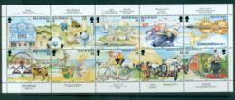 Isle Of Man 1994 Tourism Booklet Pane MS MUH Lot66448 - Isle Of Man