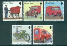 Isle Of Man 2003 Post Office Vehicles MUH Lot66466 - Isle Of Man