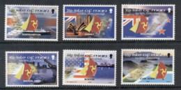 Isle Of Man 2000 Global Challenge Yacht Race MUH - Isle Of Man