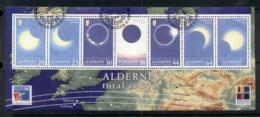 Alderney 1999 Total Solar Eclipse MS FU - Alderney