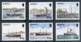 Jersey 2001 Steamships MUH - Jersey