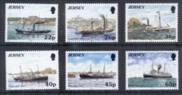 Jersey 2001 Ships, Ferries MUH - Jersey