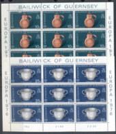 Guernsey 1976 Europa Sheetlets MUH - Guernsey