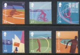 Guernsey 2003 Island Games, Sports MUH - Guernsey