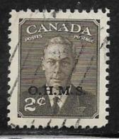 Canada Scott # O13 Used  King George Vl Overprinted, 1950 - Officials