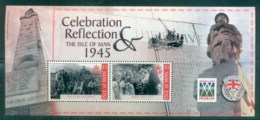 Isle Of Man 2005 Victory In WWII MS MUH Lot79906 - Isle Of Man