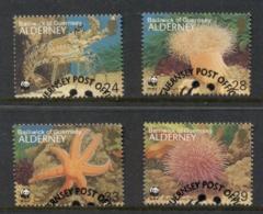 Alderney 1993 WWF Marine Life FU - Alderney