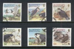 Alderney 2000 WWF Peregrine Falcon FU - Alderney