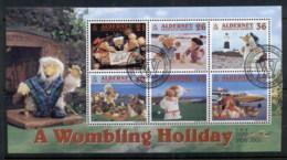 Alderney 2000 Wombles On Vacation MS FU - Alderney