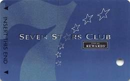 Harrah's Casino Multi-Property - TR Seven Stars Slot Card @2005 / 3 Phone#s / BLANK - Casino Cards