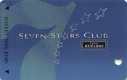Harrah's Casino Multi-Property - TR Seven Stars Slot Card @2005 / 4 Phone#s / BLANK - Casino Cards