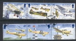 Alderney 1995 Air Planes FU - Alderney