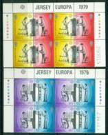 Jersey 1979 Europa Block 8 MUH Lot16541 - Jersey