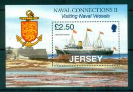 Jersey 2008 Royal Navy Vessels MS MUH Lot66510 - Jersey