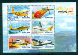 Alderney 2008 Aurigny Air Services MS MUH Lot66520 - Alderney