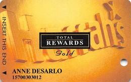 Harrah's Casino Multi-Property - TR Gold Slot Card @2006 - Casino Cards