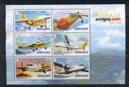 Alderney 2008 Aurigny Air Service MS FU - Alderney