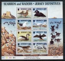 Jersey 1999 Seabirds MS MUH - Jersey