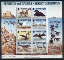 Jersey 1999 Seabirds & Waders MS MUH - Jersey