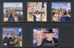 Guernsey 2005 WWII, Churchill MUH - Guernsey