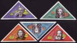 Paraguay 1965 Mi 1431 - 1435 Space Science Kopernik Newton Enstein Galilei MHN** W890 - Paraguay