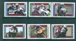 Isle Of Man 2005 Motorcycle Racers MUH Lot66408 - Isle Of Man