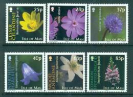 Isle Of Man 2004 Flowers MUH Lot66420 - Isle Of Man