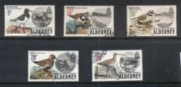 Alderney 1984 Wading Birds FU - Alderney