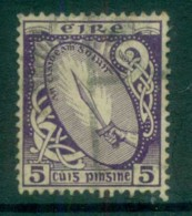 Ireland 1922-23 5d Sword Of Light FU Lot78540 - 1922-37 Irish Free State